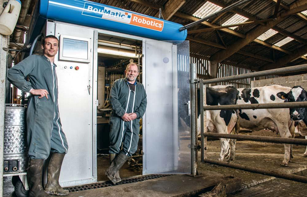 """Photo of Traite robotisée : """"Après un passage difficile, la qualité du lait s'est améliorée"""""""