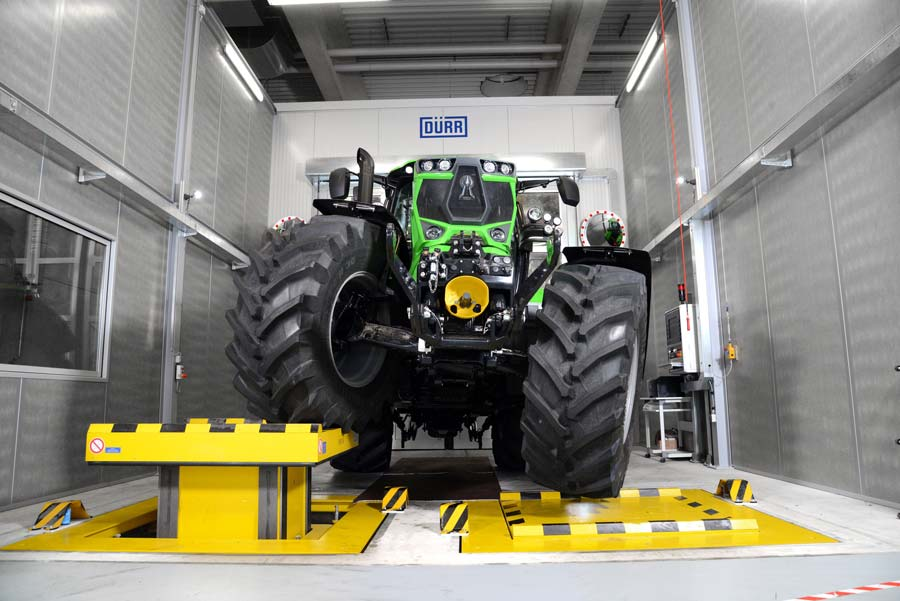 Photo of DEUTZ-FAHR Land, le parc hi-tech est rentré en production