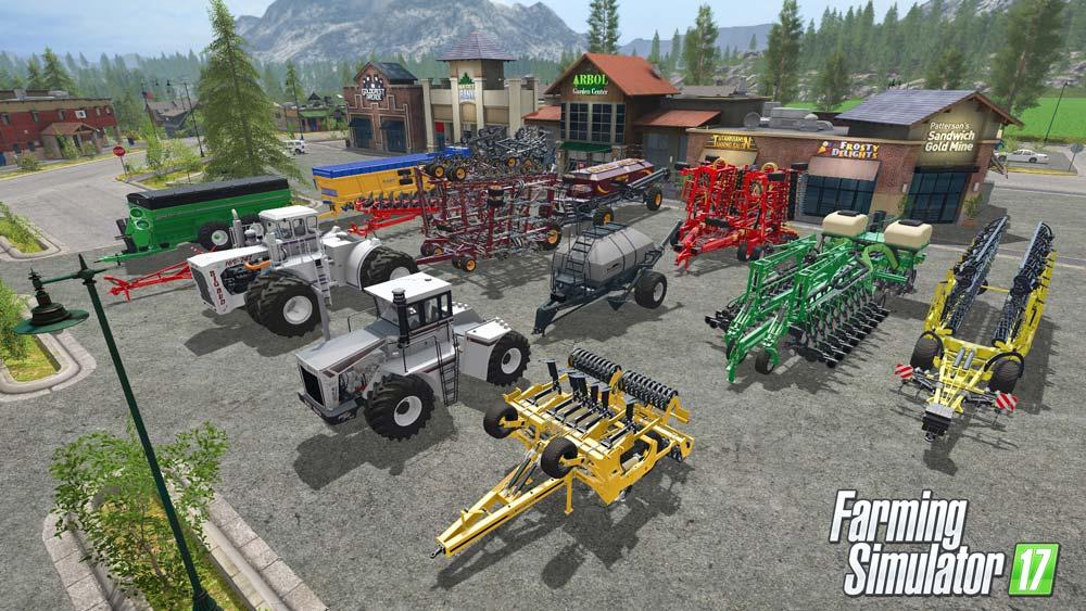 """Photo of Le Big Bud, le """"plus gros tracteur du monde"""", disponible dans Farming Simulator 17"""