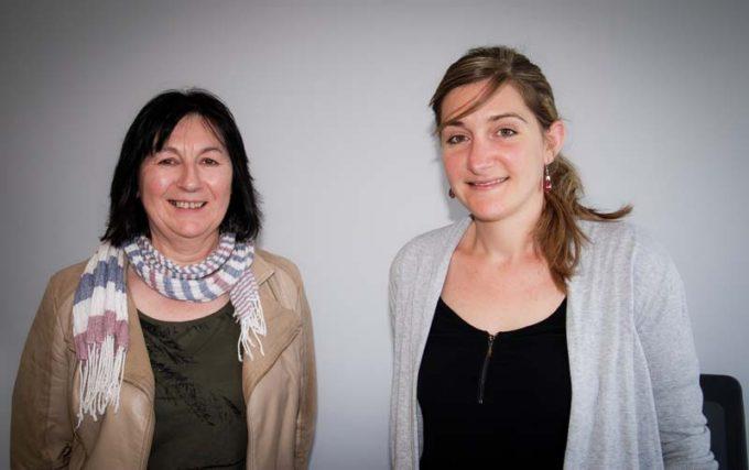 Anne Prigent, Responsable climat-énergie BCEL Ouest, et Manon Jattiot, Chargée d'études