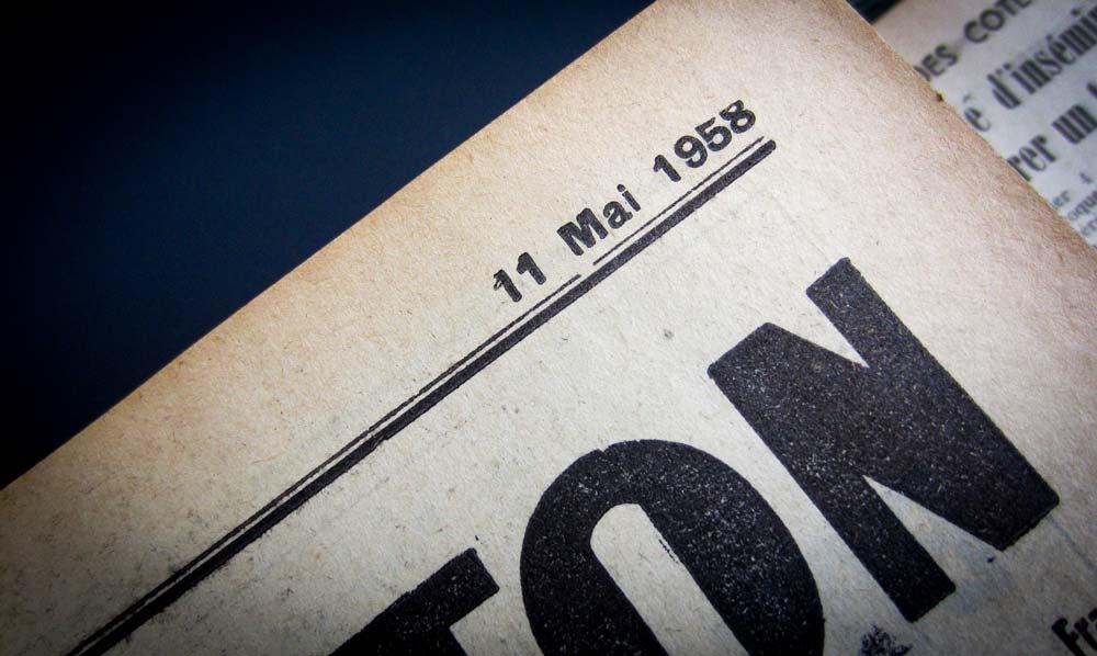Photo of 11 mai 1958 : le confort au gaz est en marche