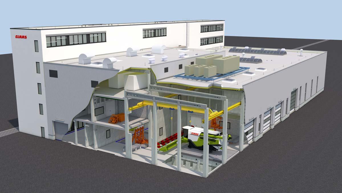 Un regard vers l'avenir: voici à quoi ressemblera le nouveau centre de tests et de contrôle.