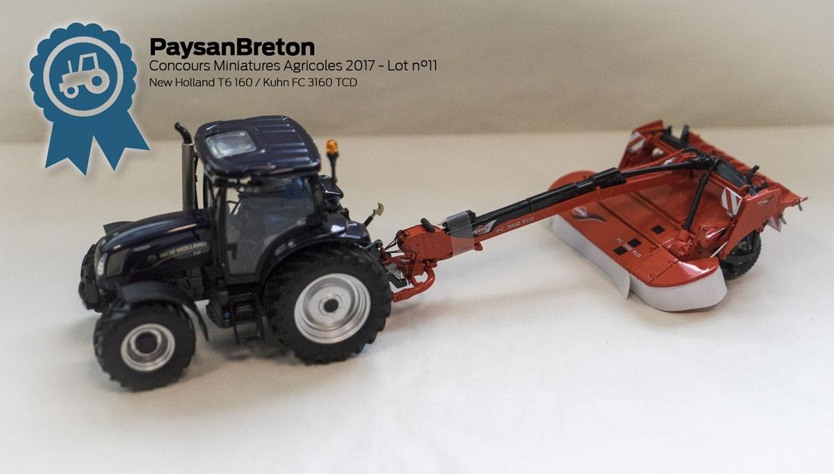 Concours miniatures : Deutz 5130 TTV et Kuhn Primor 3570M ...