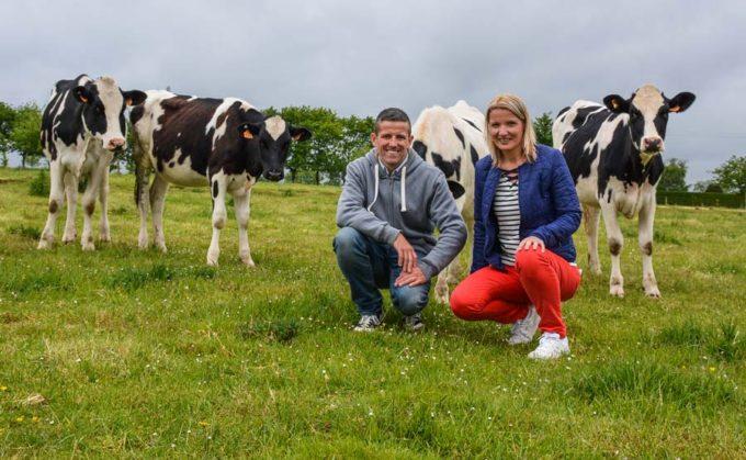 Anne-Soizic a rejoint son mari sur la ferme en 2014 avec son projet de yaourterie.