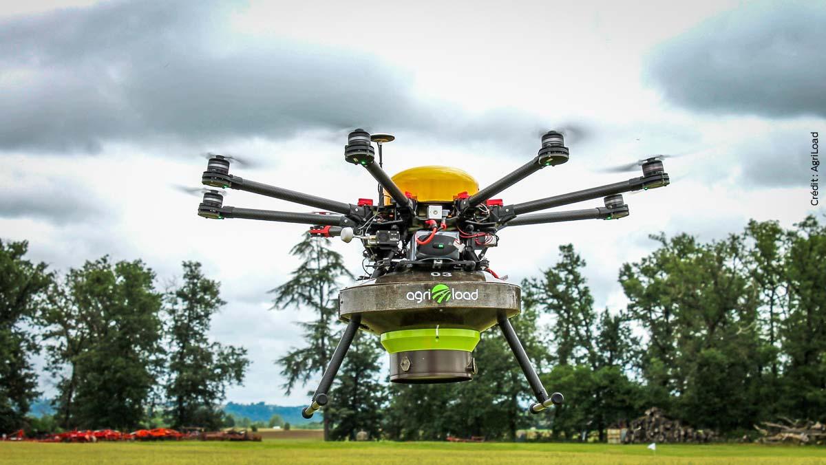Photo of Pulvérisation par drone : l'avenir du désherbage de précision ?