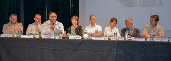Les membres du comité de pilotage des projets de recherche Drosme et Acidros.