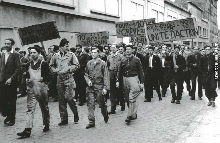 Photo of Le 15 juin 1947 : Grève, la génération des bras croisés