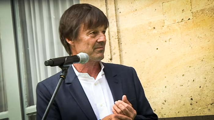 "Photo of Nicolas Hulot veut ""programmer la sortie de l'ensemble des pesticides à terme"""