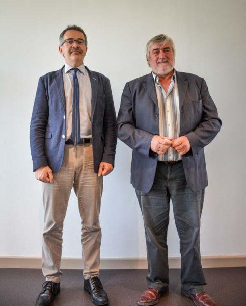 Thierry Couteller, directeur de la Safer Bretagne Jean-Paul Touzard, président.