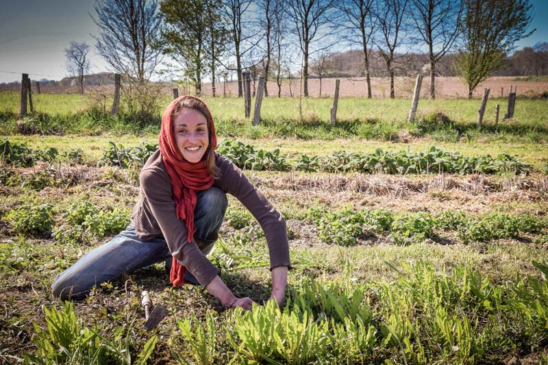 Photo of Anaïs Kerhoas a choisi de devenir agricultrice