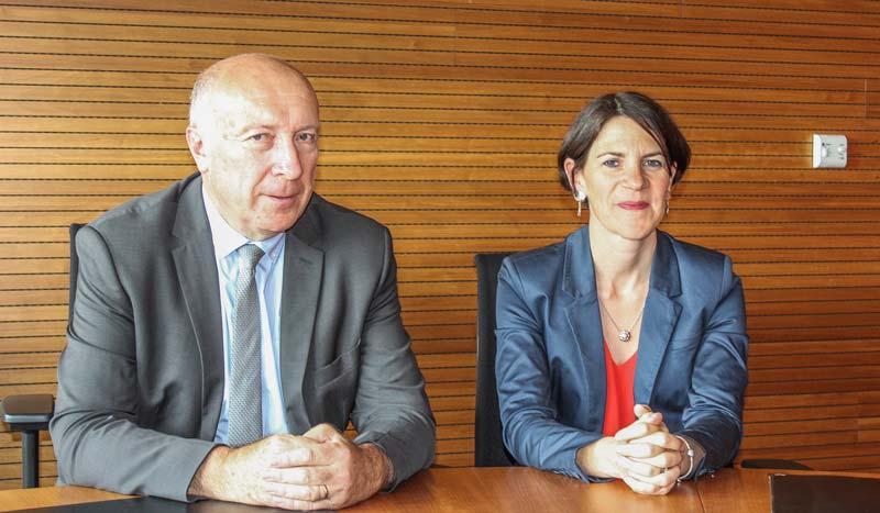 Marine Marot succède à Jacques Rolland au poste de directeur général de la MSA Portes de Bretagne.
