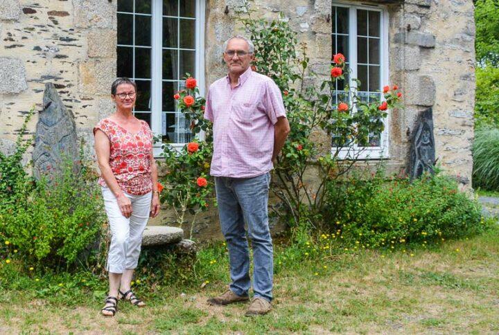 Nicolas et Josiane Guérin apprécient les rencontres que permettent leurs activités d'accueil.