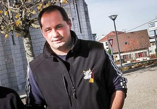 Fabrice Chabot, président des JA du Doubs.