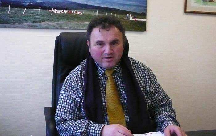 Daniel Prieur, Président Chambre agriculture du Doubs