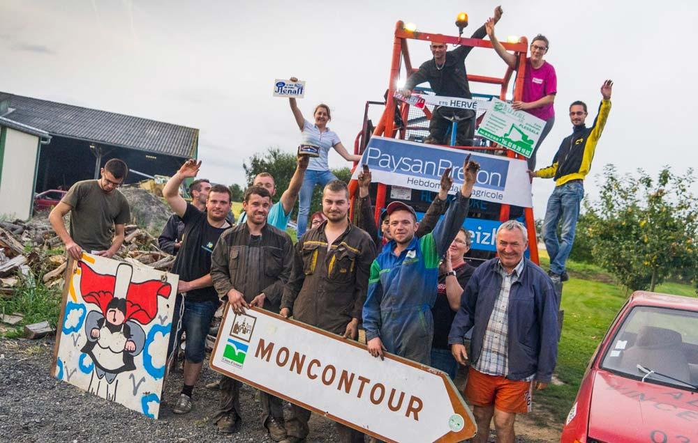 Le show de moiss batt cross promet d'être animé avec la team Moncontour.