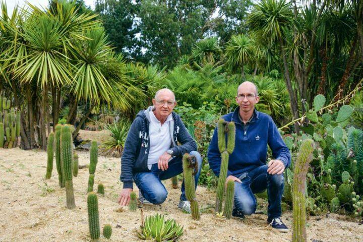 Michel Gicquel, créateur du Tropical Parc, a récemment passé la main  à ses fils Erven et Gwendal (absent sur la photo).