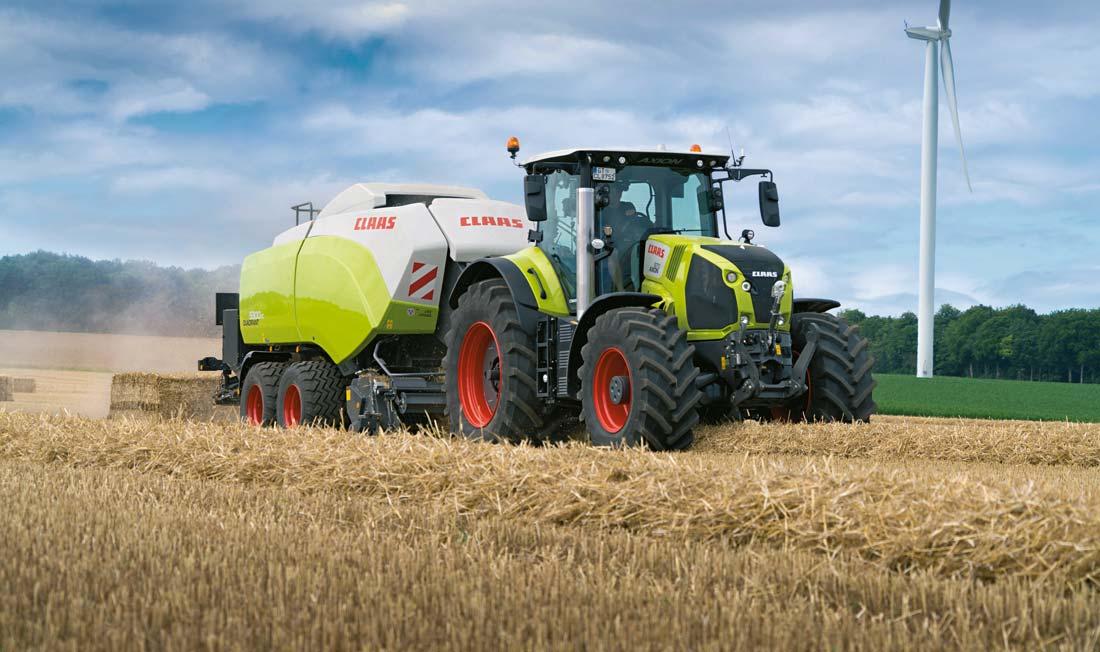 Claas pr sente sa nouvelle gamme de tracteurs axion 800 - Image de tracteur ...
