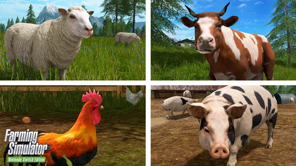 Une première bande-annonce pour Farming Simulator sur Switch !