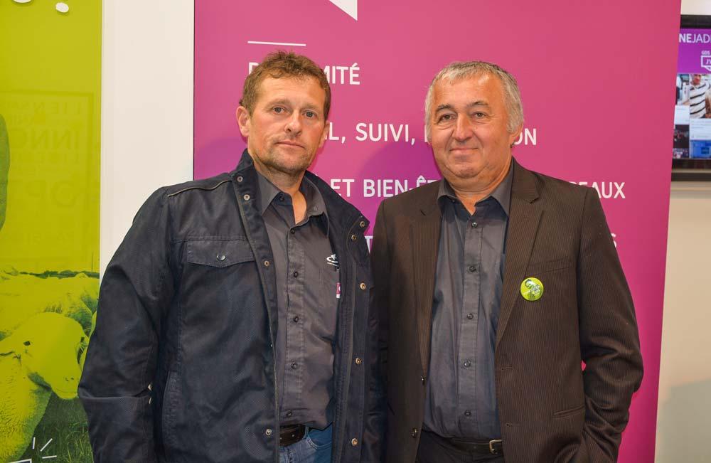Hervé Radenac, président de la Commission technique (à gauche), et Jean-François Tréguer, président de GDS Bretagne.