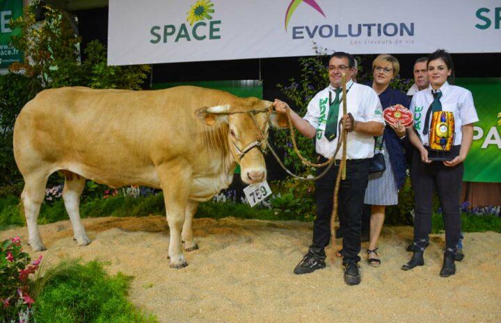 Islande (EARL Robin Picard-56), Meilleur animal du concours Blonde d'Aquitaine.
