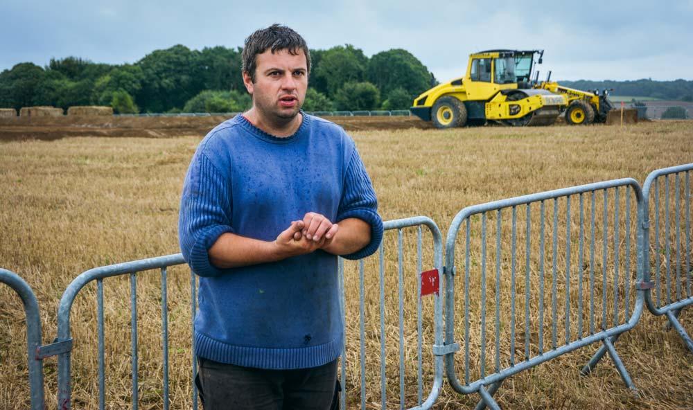 Éric Trévien attend la foule des grands jours ce week-end. Il travaille sur le projet depuis de nombreux mois, avec une équipe soudée.
