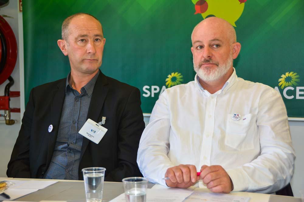 « Il faut co-construire un projet avec la grande distribution », estiment Michel Bloc'h et Philippe Bizien.