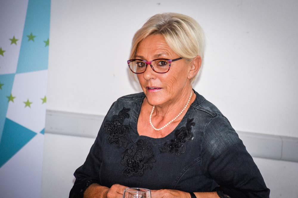 Élisabeth Carmen a témoigné lors d'un débat organisé par Réseau rural.