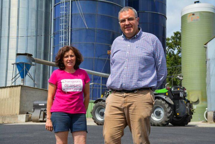 Anne-Michèle Le Hellaye et Mathieu Cortyl, présent au Space, Hall 8 stand C 49