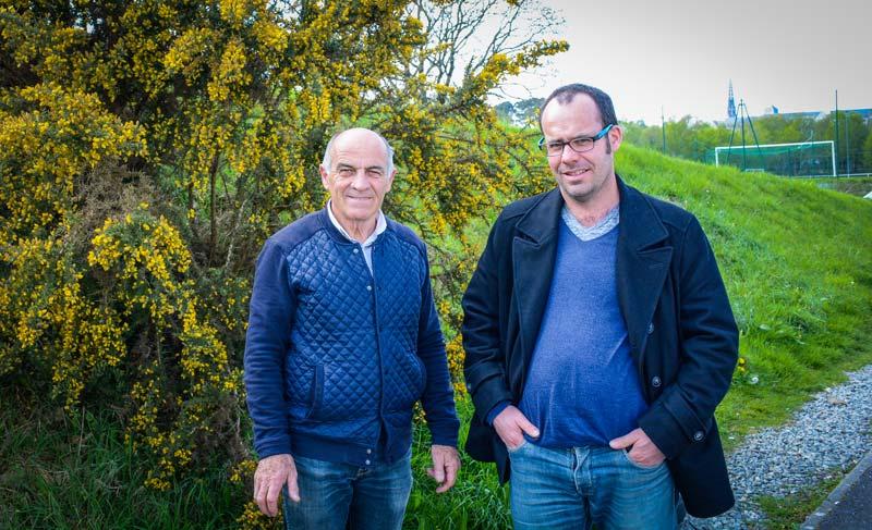 Albert Pennec, photographe, et Pierrick Mellouët, écrivain et éditeur, ont analysé les enjeux de l'agriculture bretonne actuels et à venir.