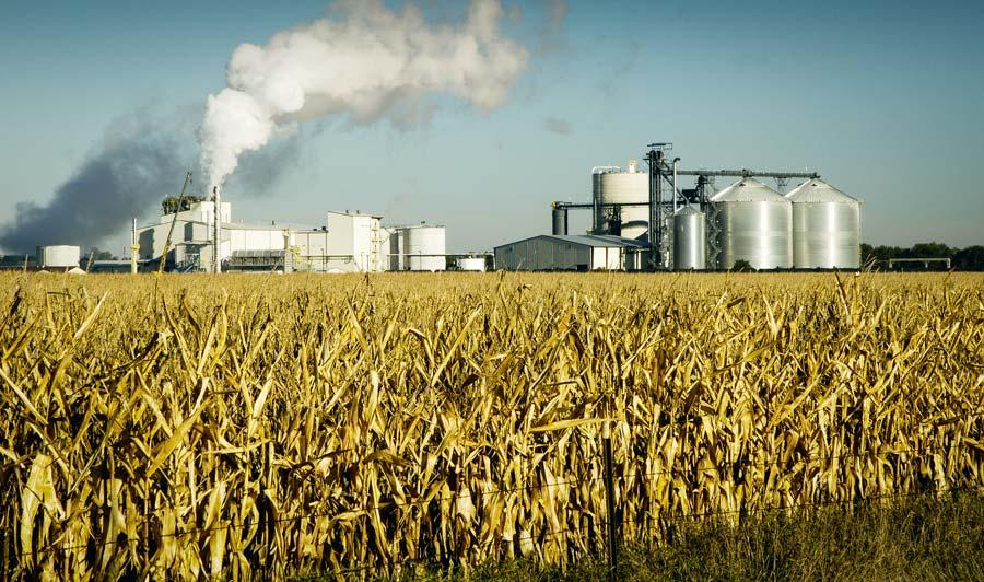 Aux USA, l'éthanol poursuit sa progression, pour absorber la production de maïs, en hausse.
