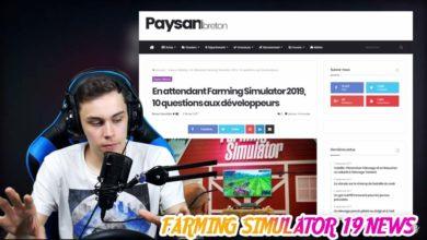 "Photo of Farming Simulator 19 : ""Stop Fake News"", ce serait bien oui…"