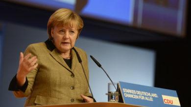 Photo of Madame Merkel