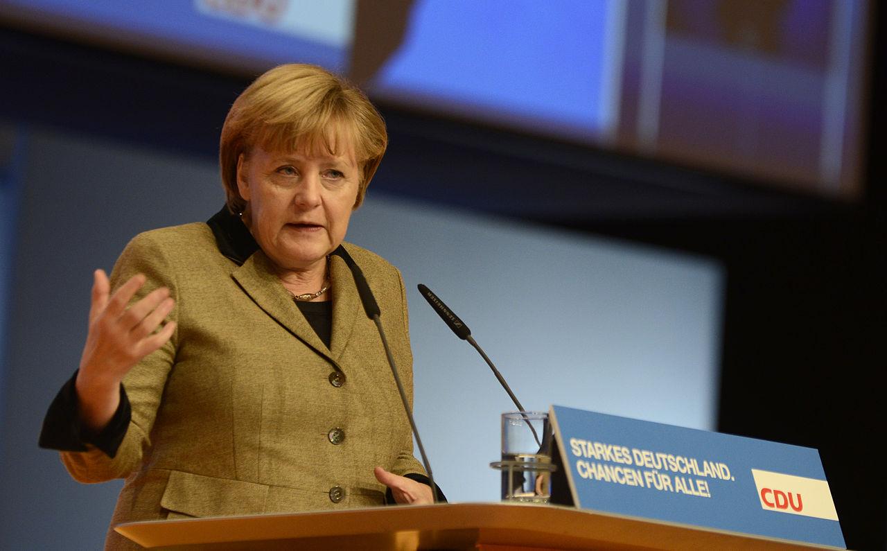 Angela Merkel, 2012, Source Wikipédia.