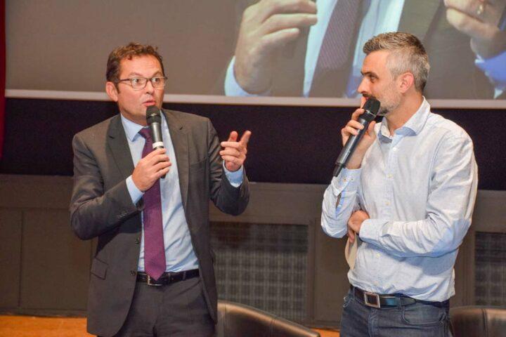 «L'esprit d'entreprise, nous le développons au sein du Crédit Mutuel de Bretagne», souligne Philippe Rouxel, directeur général. Car qui mieux qu'un entrepreneur peut comprendre les besoins d'un autre entrepreneur?»