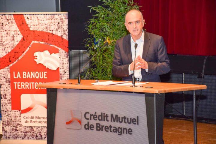 Jean-Pierre Denis, Président du Crédit Mutuel de Bretagne et du Crédit Mutuel Arkéa, a ouvert la manifestation en rappelant la pertinence du modèle de banque territoriale. «Nous sommes attachés à notre liberté d'entreprendre au service de tous ceux qui font la richesse de l'économie bretonne».