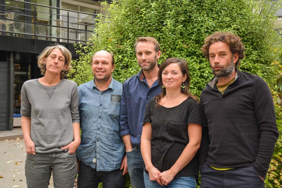 Une délégation de la Conf, avec de gauche à droite Euriell Coatrieux, Olivier Niol, Jean Charles Métayer, Laurence Voisin et Julien Brothier, a été reçue par des représentants de l'administration à Vannes.