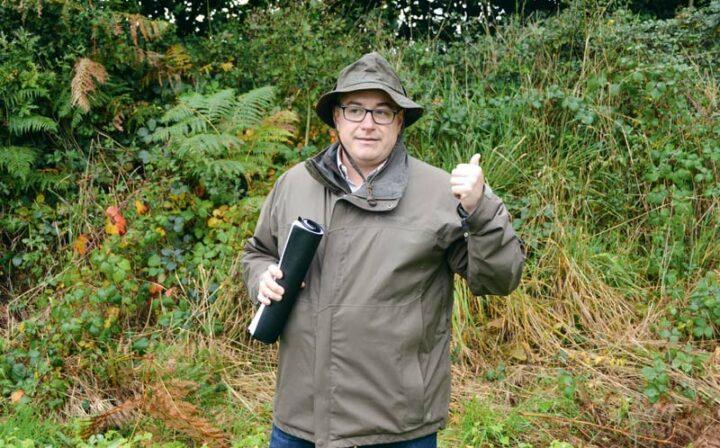 David Rolland, technicien à la fédération de chasse des Côtes d'Armor, est intervenu lors de la semaine de l'Élorn.