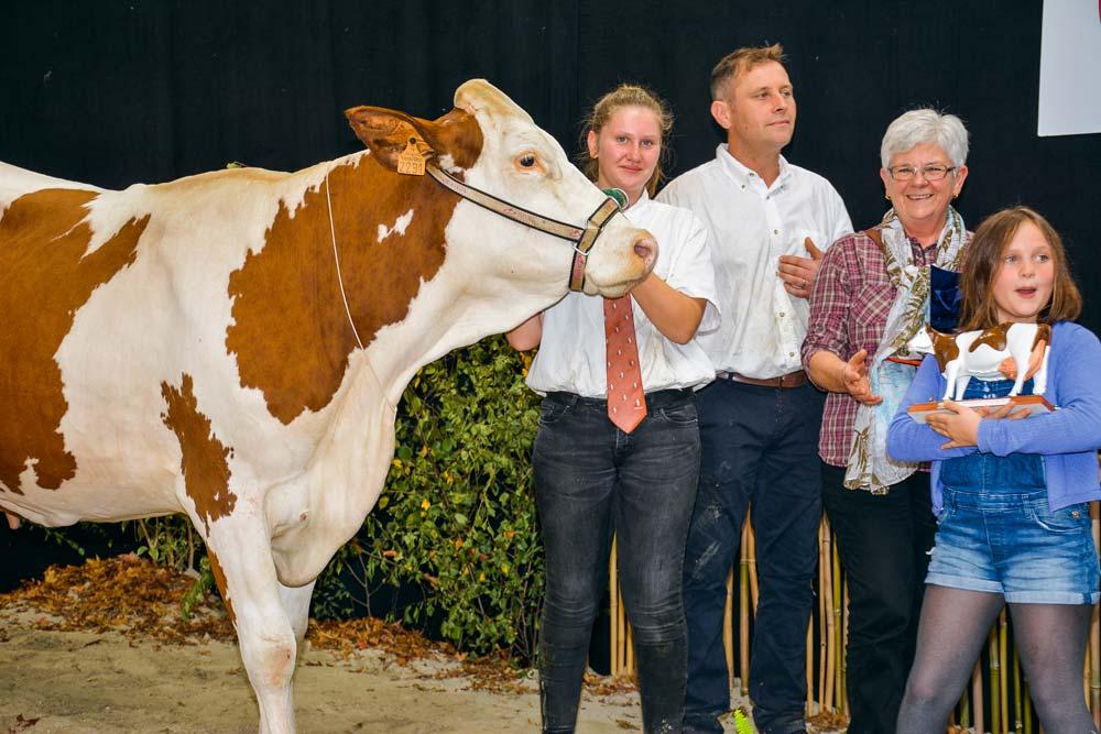 Hohisse a produit 7 905 kg à 38 et 37,6 (TA) en 2e lactation.