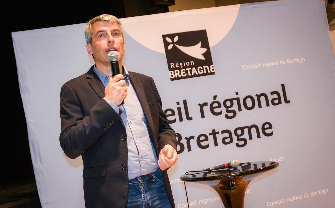 Olivier Allain, vice-président de la Région.