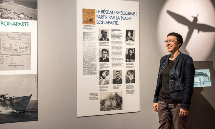 « Dans les cinq salles du musée, l'exposition permanente autour de la résistance propose aux visiteurs des synthèses écrites, des documents audiovisuels, des objets et des extraits de témoignages » explique Annaïs Landren, coordinatrice.