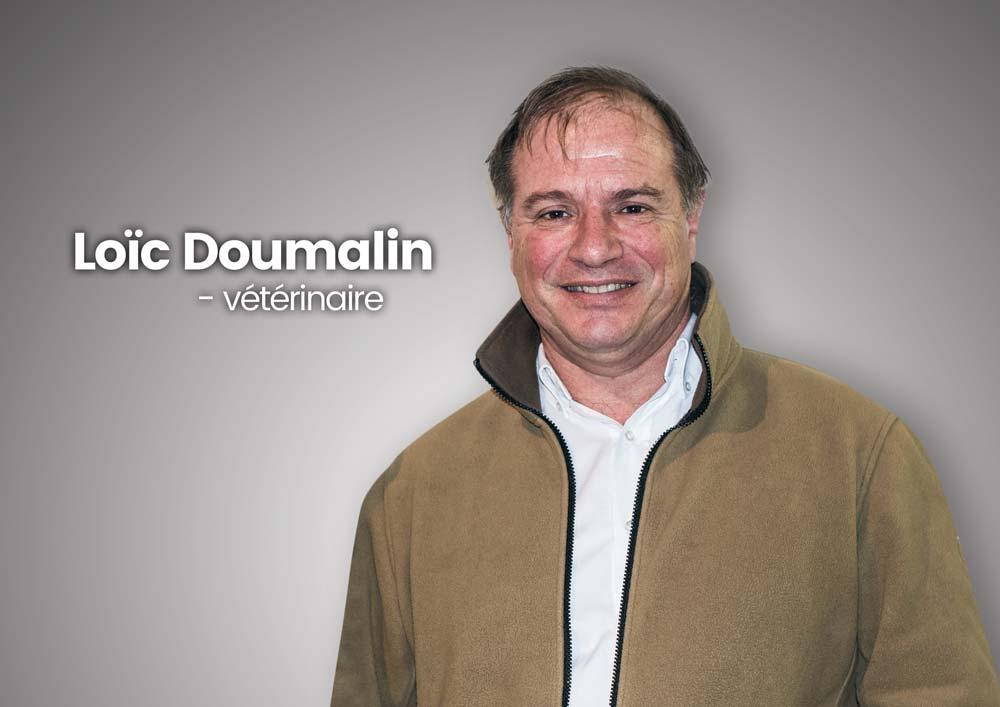 Loïc Doumalin, vétérinaire