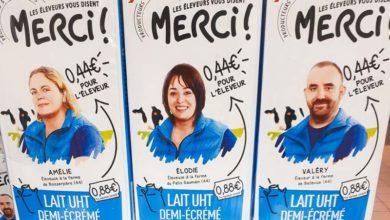 """Photo of Intermarché lance la brique de lait """"Les éleveurs vous disent MERCI !"""" à 0,88€/L"""