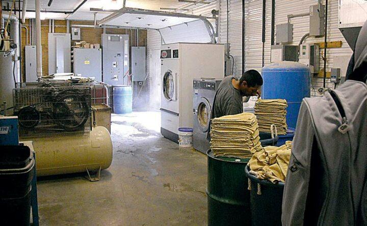 «Aux Etats-Unis, la traite est beaucoup plus standardisée et structurée, basée sur des protocoles stricts. Ces systèmes de lavage des lavettes l'illustrent.»