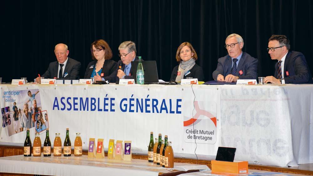 À l'occasion de son assemblée générale, la caisse de Plouay a mis à l'honneur l'agriculture locale.