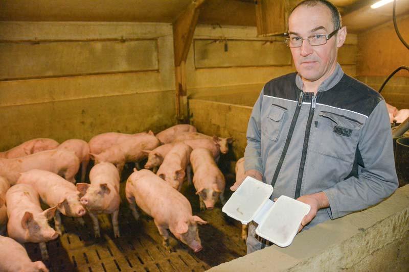 « J'observe une meilleure ambiance dans les bâtiments », estime Xavier Brulé, producteur de porcs à Hillion (22).