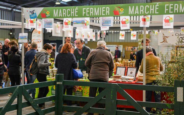 Samedi 24 et dimanche 25 mars, un marché est organisé par Bienvenue à la Ferme, du producteur en direct vers le consommateur.