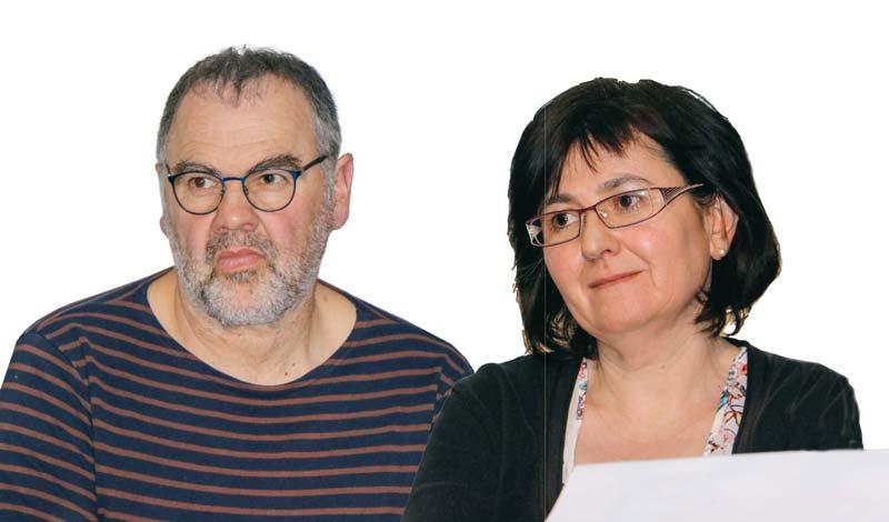 Christelle Facy et Jacky Savin ont pu rebondir grâce à l'accompagnement proposé par Solidarité Paysans.