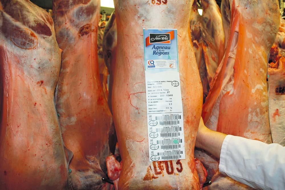 Des colorations brun-rouge peuvent altérer la présentation des carcasses des agneaux et entraîner l'exclusion des démarches qualité.