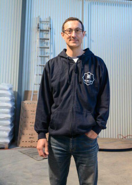 Hervé Lamoureux, dirigeant de la malterie Yec'hed Malt à Saint-Avé.
