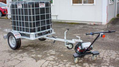 Photo of Beiser Environnement présente un tireur-pousseur électrique